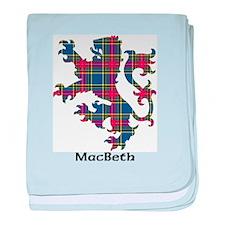 Lion - MacBeth baby blanket