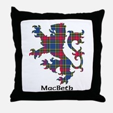 Lion - MacBeth Throw Pillow