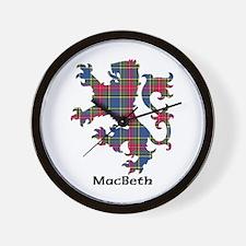 Lion - MacBeth Wall Clock