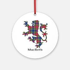 Lion - MacBeth Ornament (Round)