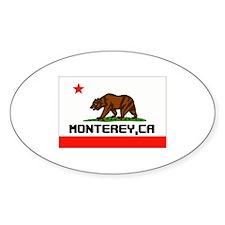 Monterey,Ca -- T-Shirt Decal