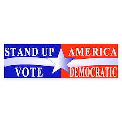 Stand Up America Bumper Bumper Sticker