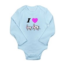 The Whisperer Long Sleeve Infant Bodysuit