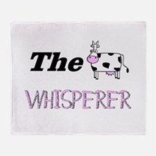 The Whisperer Throw Blanket