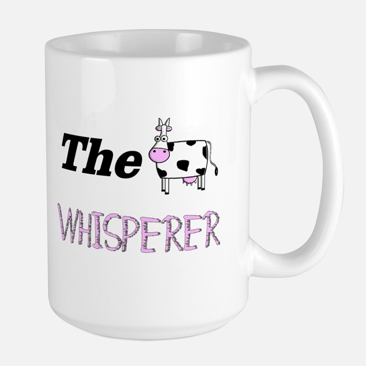 The Whisperer Large Mug