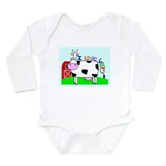 Kid Stuff Long Sleeve Infant Bodysuit