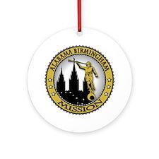 Alabama Birmingham LDS Missio Ornament (Round)