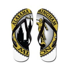 Alabama Birmingham LDS Missio Flip Flops