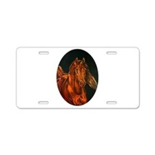 Fire Aluminum License Plate