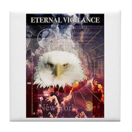 Eternal Vigilance Tile Coaster