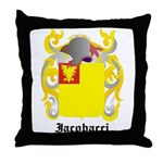 Iacobacci Coat of Arms Throw Pillow