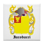 Iacobacci Coat of Arms Tile Coaster