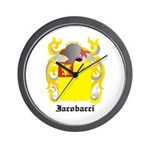 Iacobacci Coat of Arms Wall Clock