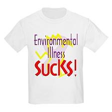 Environmental Illness Sucks! Kids T-Shirt