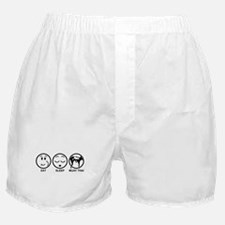 Eat Sleep Muay Thai Boxer Shorts