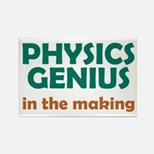 Physics Genius in the Making Rectangle Magnet