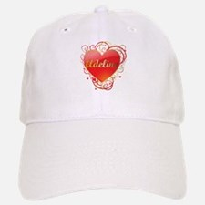 Adeline Valentines Baseball Baseball Cap