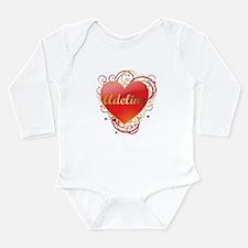 Adeline Valentines Onesie Romper Suit