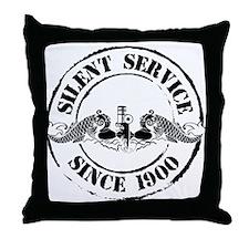 Silent Service Throw Pillow