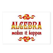 Algebra Postcards (Package of 8)