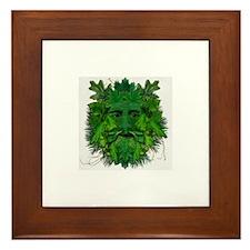 Funny C c Framed Tile