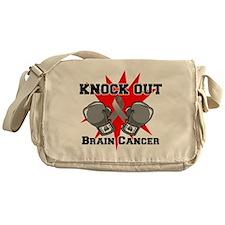 Knock Out Brain Cancer Messenger Bag