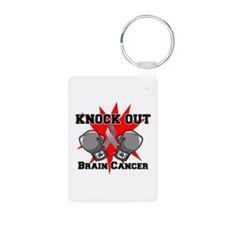 Knock Out Brain Cancer Keychains