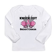 Knock Out Breast Cancer Long Sleeve Infant T-Shirt