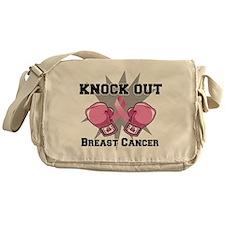 Knock Out Breast Cancer Messenger Bag