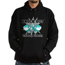 Knock Out Cervical Cancer Hoodie
