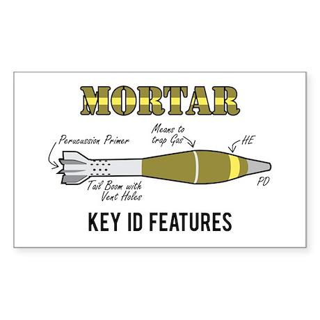 Mortar ID Sticker (Rectangle)