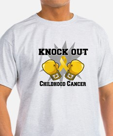Knock Out Childhood Cancer T-Shirt