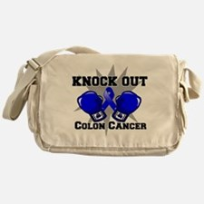 Knock Out Colon Cancer Messenger Bag