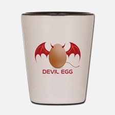 Devil Egg Shot Glass