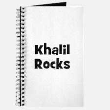 Khalil Rocks Journal