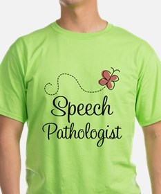 Speech Pathologist butterfly T-Shirt