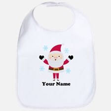 Personalized Santa Snowflake Bib