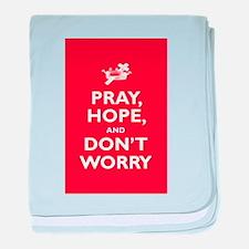 Padre Pio: Pray, Hope... baby blanket