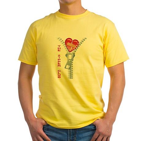 Zipper Club Yellow T-Shirt