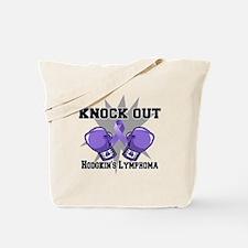 Knock Hodgkins Lymphoma Tote Bag