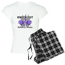 Knock Hodgkins Lymphoma pajamas