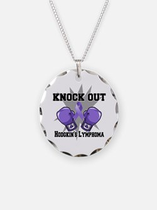 Knock Hodgkins Lymphoma Necklace
