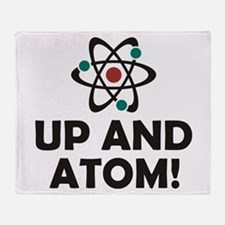 Up and Atom Throw Blanket