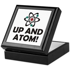 Up and Atom Keepsake Box
