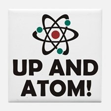 Up and Atom Tile Coaster