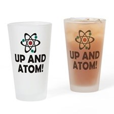 Up and Atom Drinking Glass