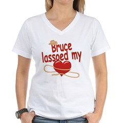 Bruce Lassoed My Heart Shirt