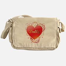 Dolly Valentines Messenger Bag