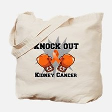 Knock Out Kidney Cancer Tote Bag