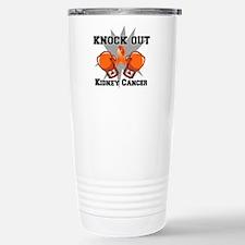 Knock Out Kidney Cancer Travel Mug